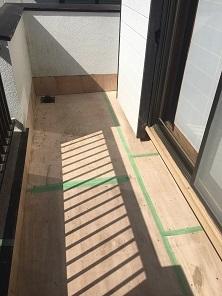 ベランダFRP防水工事(入間市)_c0183605_15391050.jpg
