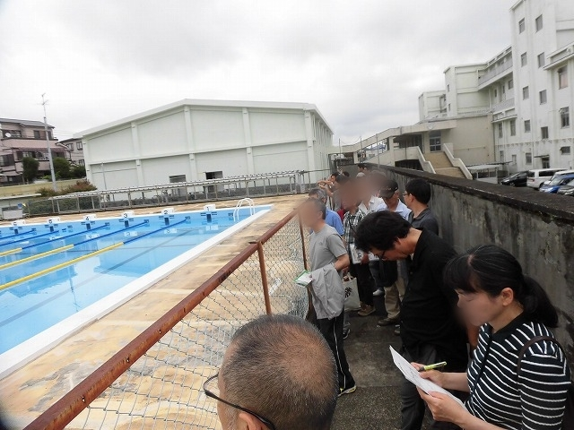 災害時の周辺7町内の避難場所 今年も吉原高校の現場確認会開催_f0141310_07010343.jpg