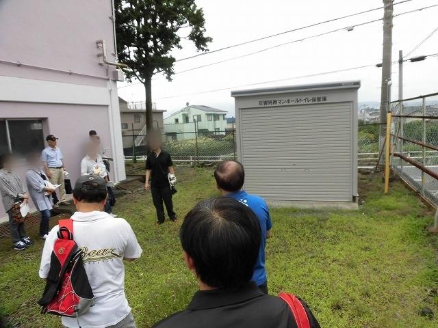 災害時の周辺7町内の避難場所 今年も吉原高校の現場確認会開催_f0141310_07012340.jpg