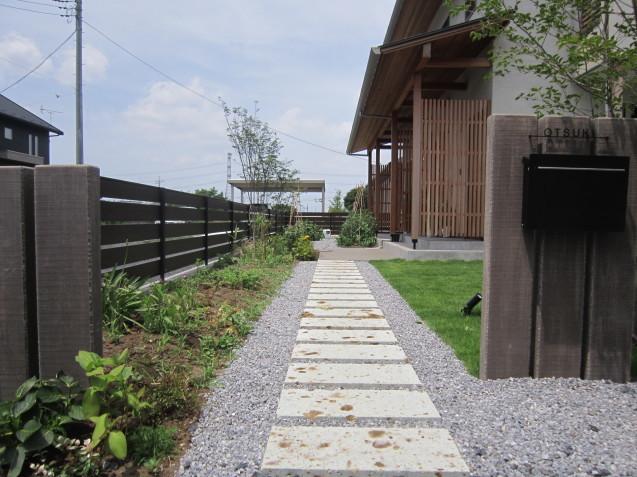 群馬太田市 O 邸 完成しました( *´艸`)  お洒落なお庭作りはGarden Flowにお任せください!_e0361918_11034615.jpg