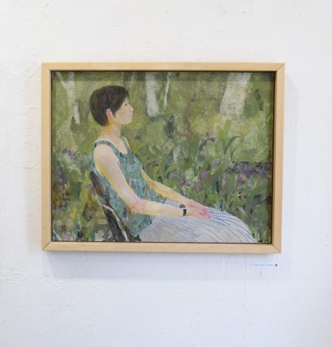 いつかの庭-真鍋修日本画展 @1日目_e0272050_16534546.jpg