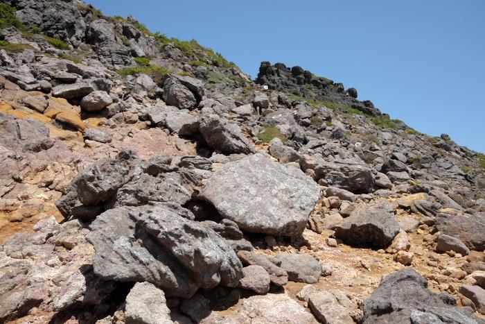 安達太良山 中編 登頂_b0339488_21370020.jpg