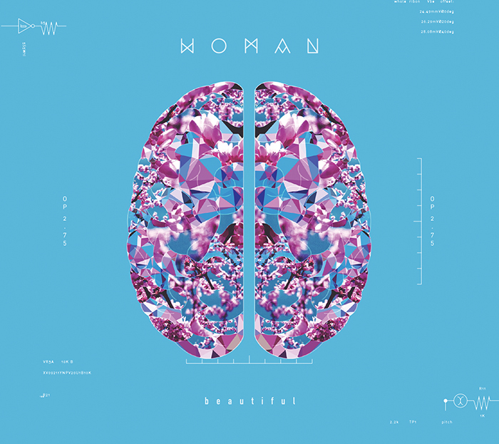 WOMAN / beautiful /CD(FLAKES-190)/2018.6.27 Release_a0087389_15245162.jpg