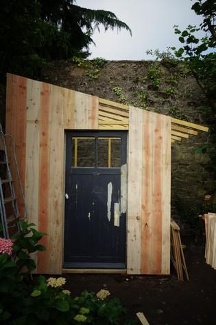 小屋プロジェクト その3     Projet de la cabane III_e0206902_14263557.jpg
