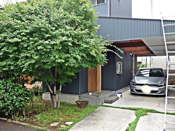 「ガレージのある家」定期点検_c0019551_10022479.jpg