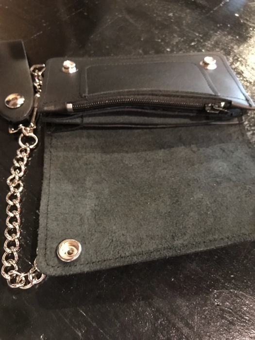 +415 CLOTHING:CLASSIC CHAIN WALLET+_f0194657_18370718.jpg