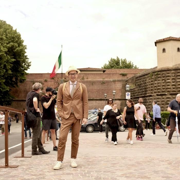 ミラノからフィレンツェ、ピッティ1日目..._c0118375_17012491.jpeg
