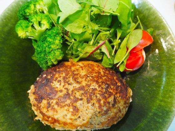 ガーリックライスとチーズハンバーグ - sobu 2