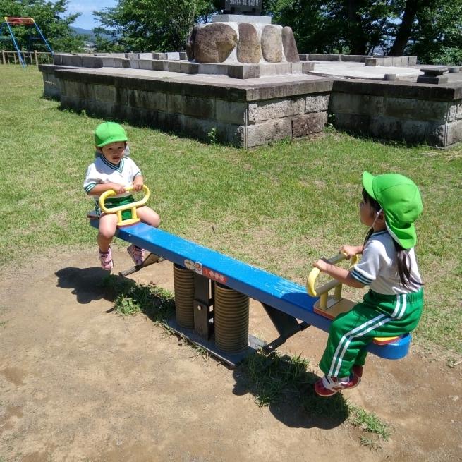 もも組経塚山公園_c0212598_16422286.jpg