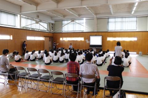 2018.6.15  横越中学校にて勉強会_f0309404_10464853.jpg