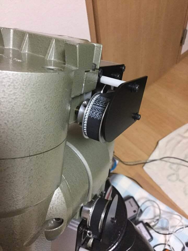GP赤道儀 ベルトドライブ改造_c0061727_08483152.jpg