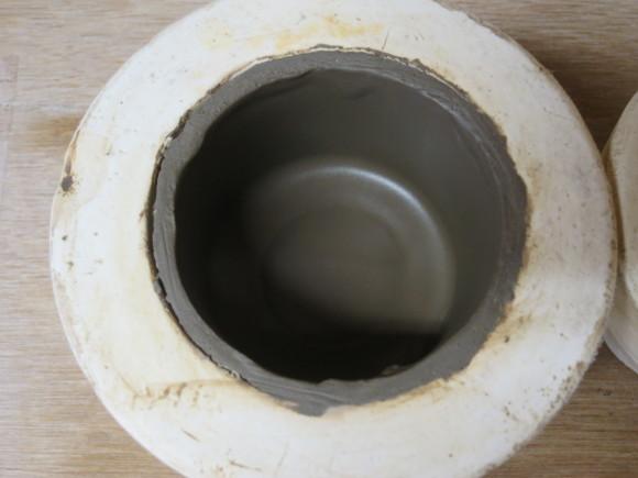 小さなカップ鋳込み&庭の花_d0277868_20364449.jpg