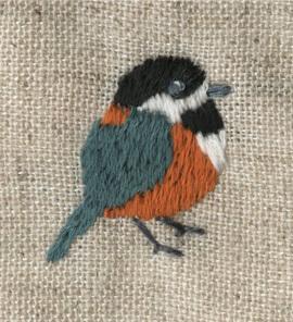 ヤマガラの刺繍をしました。_a0138978_22460976.jpg