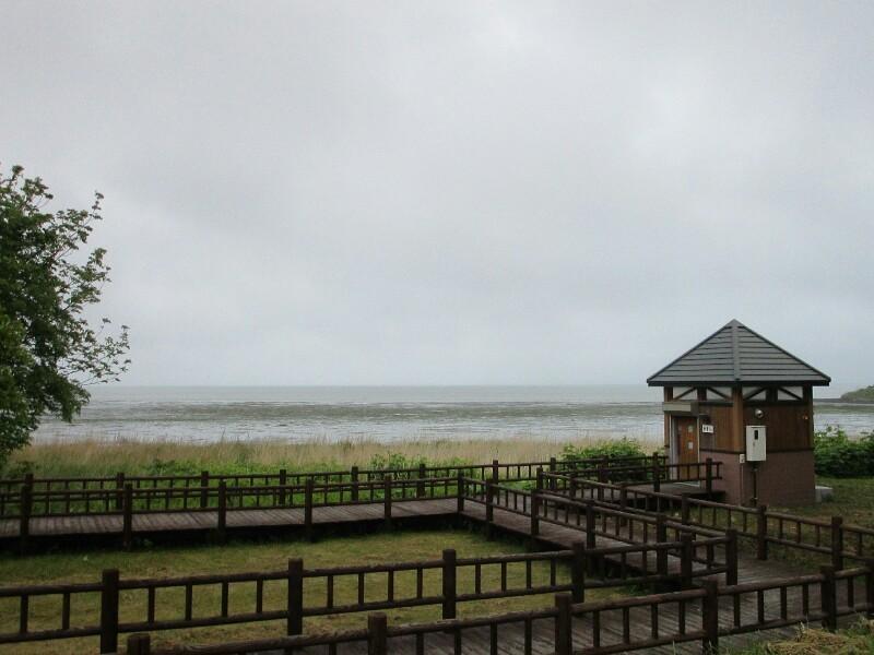 55日目【枝幸−サロマ湖】雨の中、サロマ湖は遠かった。_e0201281_20391979.jpg