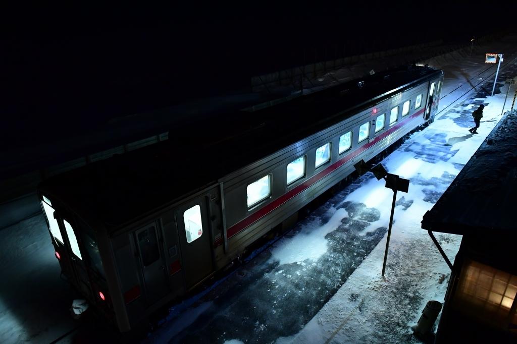 写真展 STAR SNOW STEELより 北浜駅_f0050534_08475461.jpg