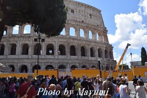 コロッセオ再び♪また様子が変わってた~ - ローマより愛をこめて