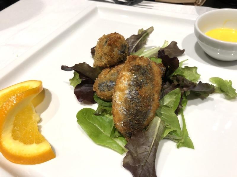 """トリノのシチリア料理レストラン \""""ORTIGIA bistrot オルティージャ ビストロ\""""_b0246303_07163987.jpg"""