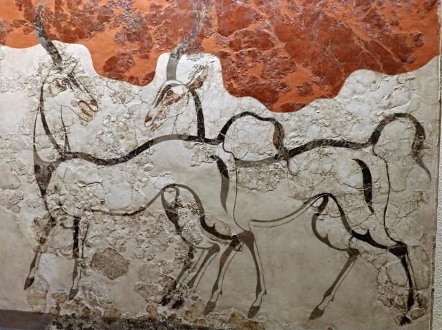 2日目 (3)国立考古学博物館で...