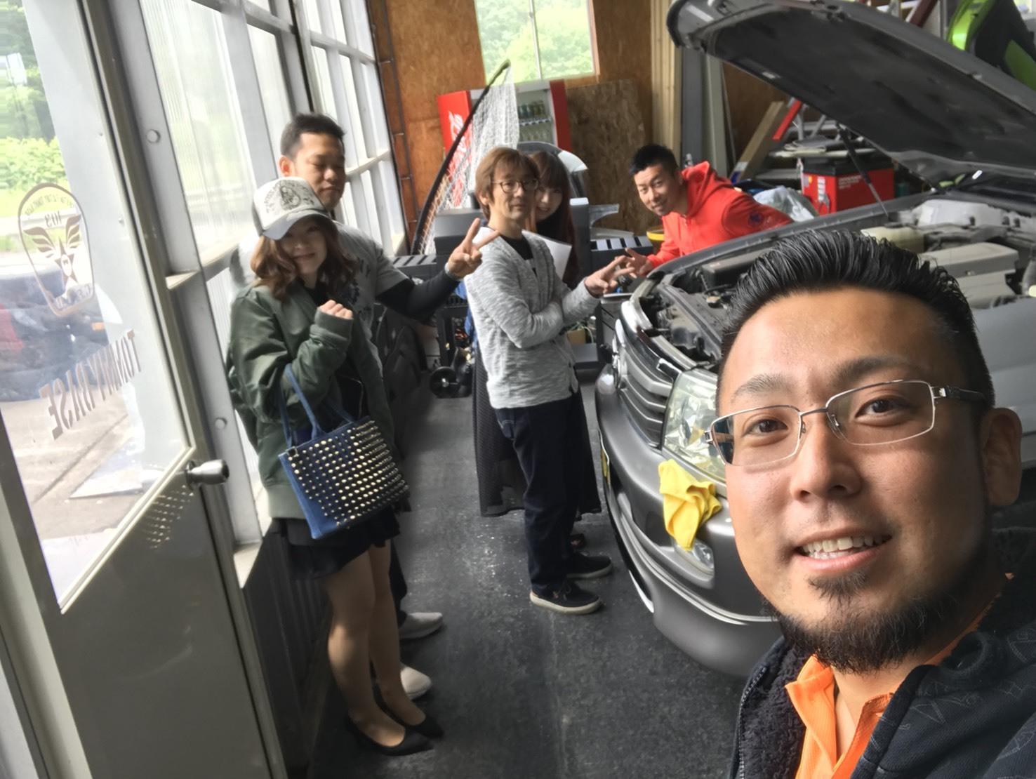 6月18日(月)トミーベース カスタムブログ☆Y様プリウスα☆M様ワゴンRが納車となりました☆_b0127002_11111911.jpg