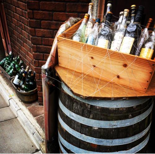 ブドウの実りと樽の修復へ_d0011635_17521701.jpg