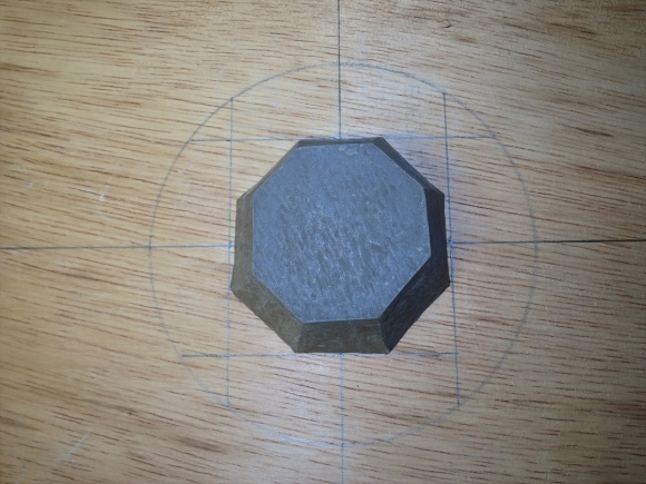 ミニ盆栽用極小八角鉢の石膏型制作_d0277868_19173662.jpg