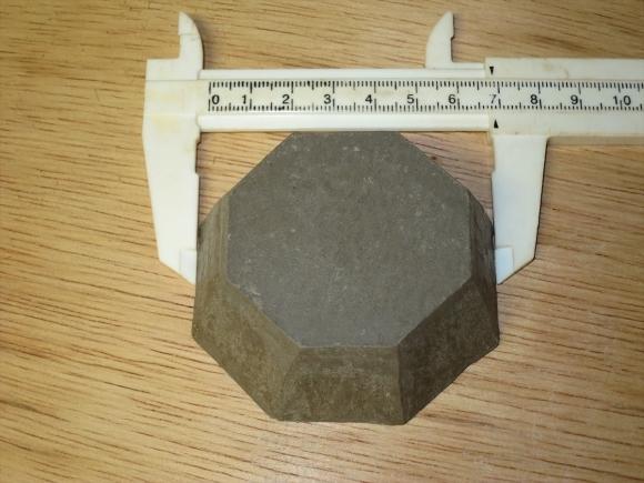 ミニ盆栽用極小八角鉢の石膏型制作_d0277868_19180674.jpg