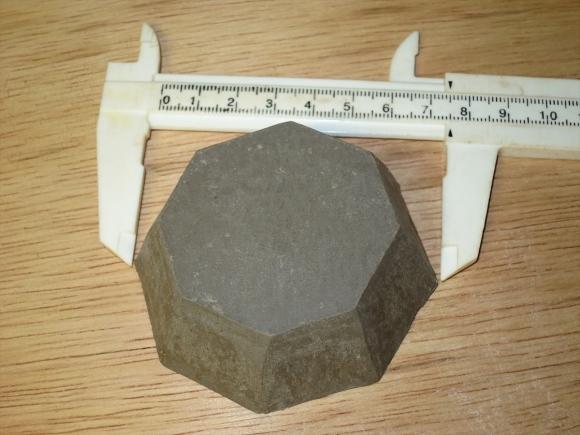 ミニ盆栽用極小八角鉢の石膏型制作_d0277868_19181685.jpg