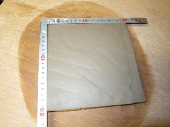 ミニ盆栽用極小八角鉢の石膏型制作_d0277868_19183737.jpg
