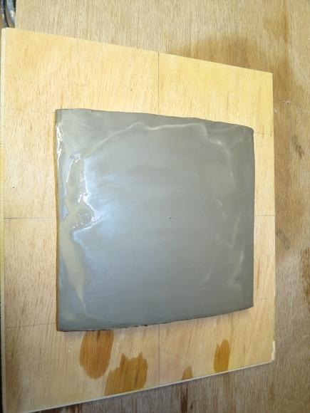 ミニ盆栽用極小八角鉢の石膏型制作_d0277868_19191041.jpg