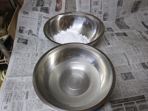 ミニ盆栽用極小八角鉢の石膏型制作_d0277868_19194839.jpg