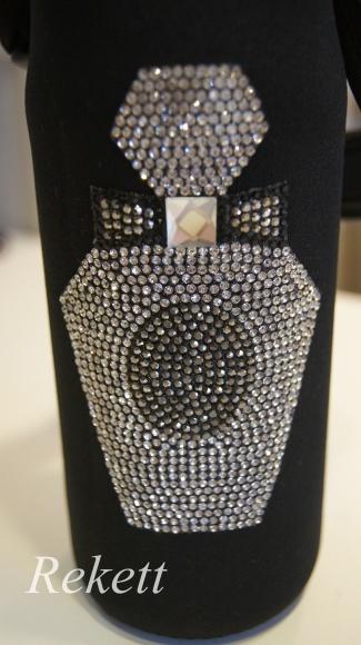 素敵なラインストーン香水瓶柄がポイントです~❤_f0029571_12170225.jpg
