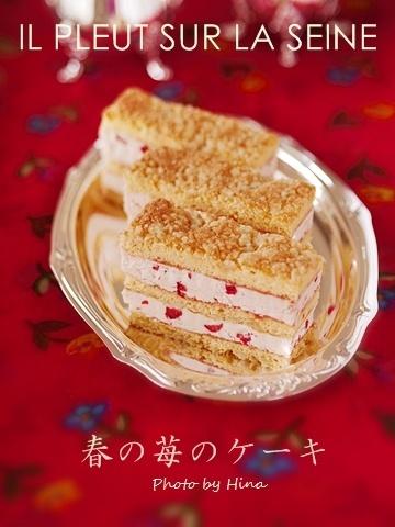 イルプルー卒研I Lesson3: 春の苺のケーキ_f0245680_17231787.jpg