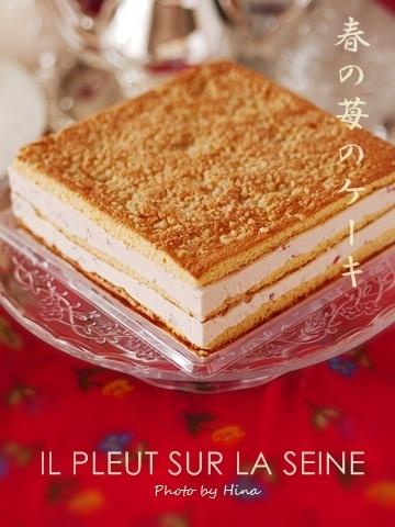 イルプルー卒研I Lesson3: 春の苺のケーキ_f0245680_17245262.jpg