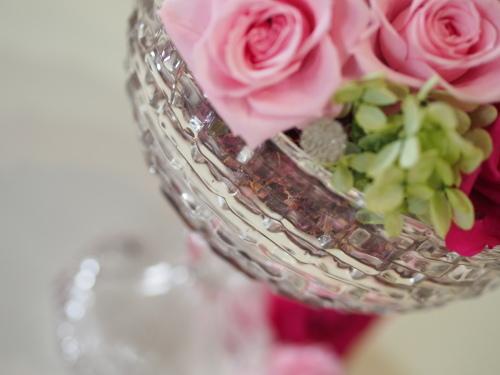 【Pink/Anniversary/Glass vase】_d0144095_16570417.jpg