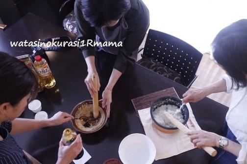 飲茶会♪ 五平餅_c0365711_12532618.jpg