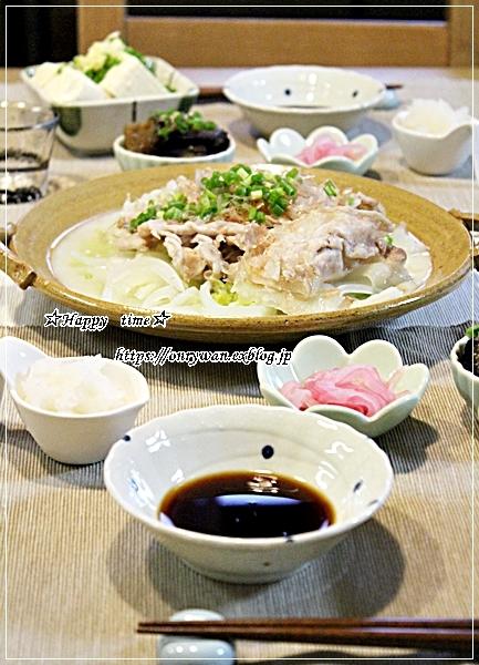 あるもののっけて押し寿司風弁当と今夜は白菜で♪_f0348032_18430348.jpg