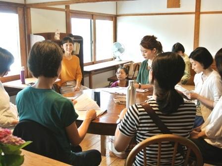 梅埜歩さんの茶話会&洗濯講座を開催しました♪_d0298850_23193963.jpg