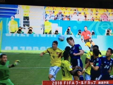 UNO 6/19(火) 日本 vs コロンビア 2018W杯ロシア大会_a0059812_00442575.jpg