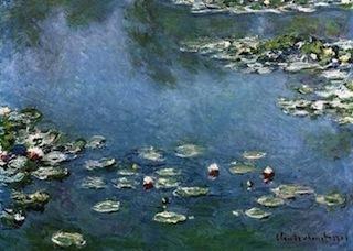 《 画家モネの睡蓮 》 と《 大船フラワーセンターのスイレン 》_b0221219_22022037.jpg