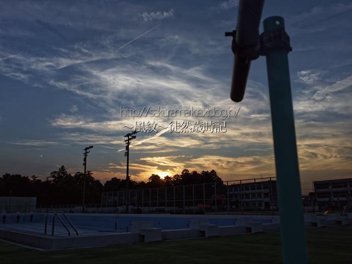 夏至の夕空。_f0235723_2093443.jpg
