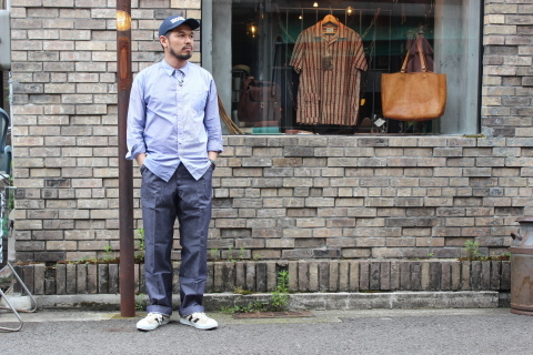"FRENCH MILITARY ""70\'s DENIM TROUSERS & M47 FIELD JACKET\"" ご紹介_f0191324_09114334.jpg"