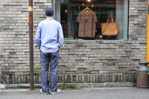 "FRENCH MILITARY ""70\'s DENIM TROUSERS & M47 FIELD JACKET\"" ご紹介_f0191324_09115201.jpg"
