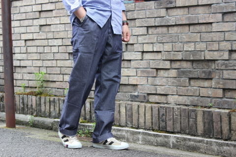 "FRENCH MILITARY ""70\'s DENIM TROUSERS & M47 FIELD JACKET\"" ご紹介_f0191324_09120250.jpg"