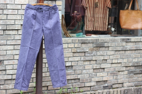 "FRENCH MILITARY ""70\'s DENIM TROUSERS & M47 FIELD JACKET\"" ご紹介_f0191324_09124508.jpg"