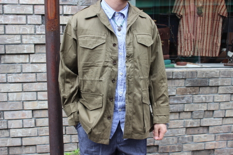 "FRENCH MILITARY ""70\'s DENIM TROUSERS & M47 FIELD JACKET\"" ご紹介_f0191324_09141622.jpg"
