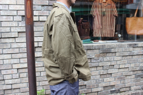 "FRENCH MILITARY ""70\'s DENIM TROUSERS & M47 FIELD JACKET\"" ご紹介_f0191324_09142953.jpg"