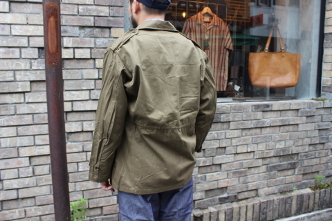 "FRENCH MILITARY ""70\'s DENIM TROUSERS & M47 FIELD JACKET\"" ご紹介_f0191324_09143931.jpg"