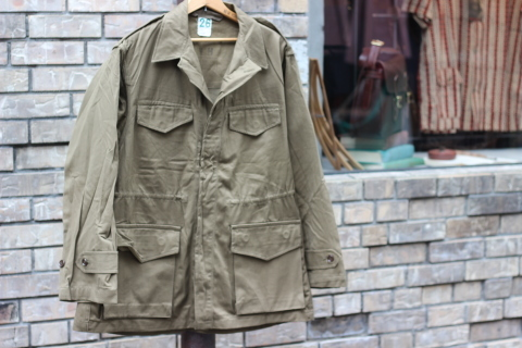 "FRENCH MILITARY ""70\'s DENIM TROUSERS & M47 FIELD JACKET\"" ご紹介_f0191324_09150661.jpg"