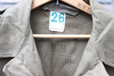 "FRENCH MILITARY ""70\'s DENIM TROUSERS & M47 FIELD JACKET\"" ご紹介_f0191324_09151653.jpg"