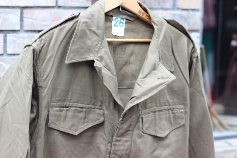 "FRENCH MILITARY ""70\'s DENIM TROUSERS & M47 FIELD JACKET\"" ご紹介_f0191324_09152433.jpg"